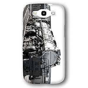 Union Pacific Big Boy Locomotive Train Black And White Samsung Galaxy S3 Slim Phone Case
