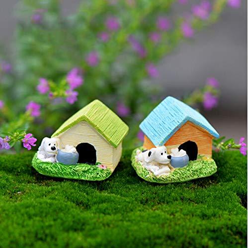 STORE-DECORATIVE - Animal House Figures Miniature Figurine for mini fairy garden Aquarium fish tank animal statue resin craft TNB047 by STORE★DECORATIVE★ (Image #5)