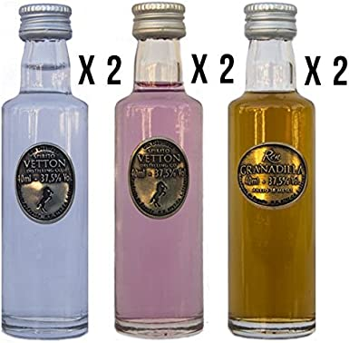 CEREX – Pack Degustación 6 botellas de Ron Añejo Granadilla con ...