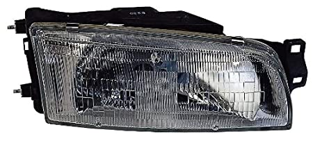 Depo 314-1104L-AS Mitsubishi Mirage Driver Side Replacement Headlight Assembly 02-00-314-1104L-AS