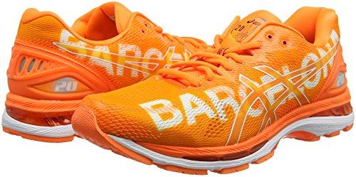 nimbus Uomo Asics Running Orange Barcelona Gel 20 Marathon Scarpe f4wn0qvSw5