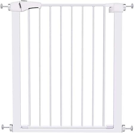 Barreras para puertas y escaleras Puerta de seguridad para niños - Sin perforaciones - Altura 76 cm - Ancho