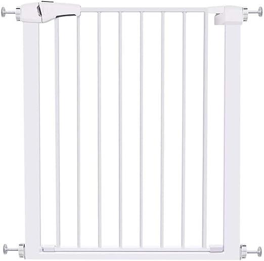 Barreras para puertas y escaleras Puerta de seguridad para niños - perforación libre - altura 76 cm / ancho
