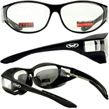 Escort Advanced System Safety Glasses Fits Over Most Prescription Eyewear