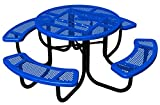 BarkPark Chow Hound Dog Table, Blue
