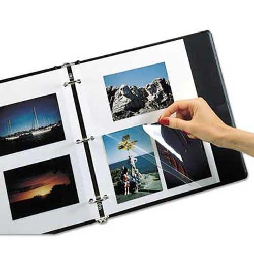 (C-Line Redi-Mount Photo-Mounting Sheets, 11 x 9, 50/Box)
