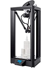 Monoprice Delta PRO 3D Printer with Heated Glass Build Plate, Auto Leveling, Triple Fan, PID Tuning, Fully Assembled