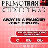 Away in a Manger - (Medium Key - Eb) Performance Backing Track (Mueller)