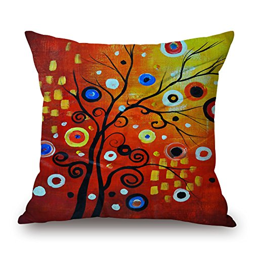 Loveloveu 16 X 16 Inches / 40 By 40 Cm Plant Throw Pillow Covers,both Sides Is Fit For Home,couch,family,gril