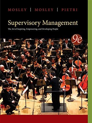 1285063007 - Supervisory Management