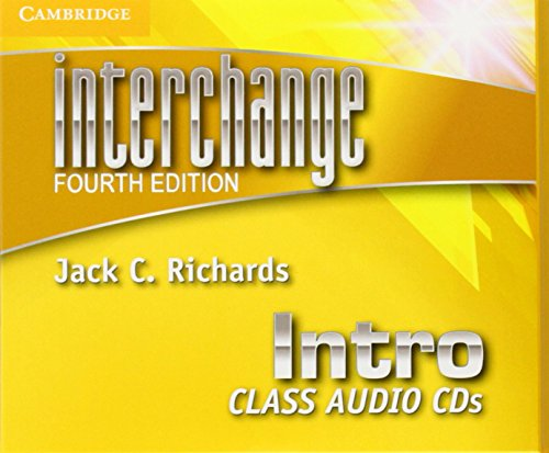 Interchange Intro Class Audio CDs (4th Edition)