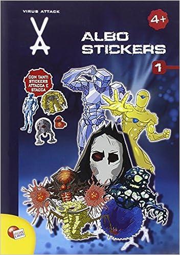 Virus attack. Albo stickers. Ediz. illustrata: 1: Amazon.es: Libros en idiomas extranjeros