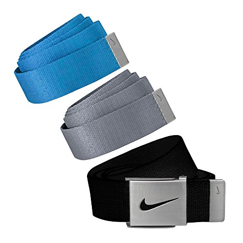 (Nike Golf Mens Web Belt 3-Pack)