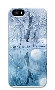 iPhone 5 5S Case Timely Snow 3D Custom iPhone 5 5S Case Cover