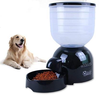 MRXUE 11L Gran Alimentador Automático De Mascotas para Gatos Perros Conejos Tazón De Ratón con Temporizador