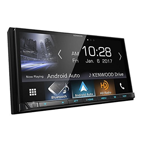 Kenwood DMX7704S 2-DIN Digital Media Receiver with Bluetooth & HD Radio (Car Stereo Double Din 2018)