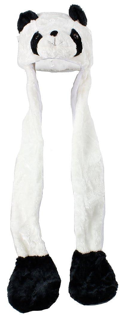 Various Animal Hats - Long / Short Available 100% Polyester L1 Panda