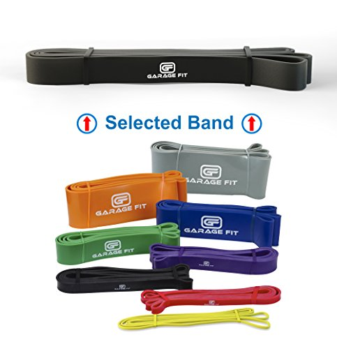 Assisted Pull-Up Bands, Pull Up Bands, Stretching Bands (Single unit), Pull-Up Assist Bands, Workout Bands, Pull Up Elastic #2 Black (S) 50-75 lbs. - Off Black 50 Friday