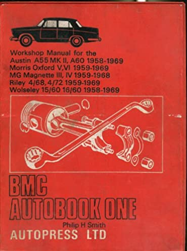 b m c autobook one workshop manual for the austin a55 mk ii a60 rh amazon co uk MG Magnette Emblems mg magnette workshop manual pdf