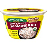 Golden Star Organic Ready to Eat Red and White Jasmine Rice Bowl 180 grams (pack of 6)