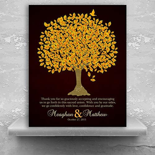 Amazon Thank You Gift For Parents Personalized Wedding Day