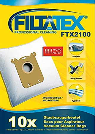 10 x FILTATEX sacs aspirateur alternative pour AUCHAN AUC219