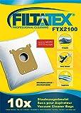 10 x FILTATEX sacs aspirateur Electrolux ZUSORIGDB ultrasilencer / electrolux ultra silencer zus origdb