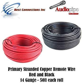 Audiopipe 12 GA Gauge Red Black Stranded 2 Conductor Speaker Wire ...