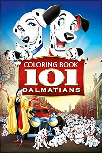 Amazon.com: 101 Dalmatians Coloring Book: Coloring Book for Kids and ...