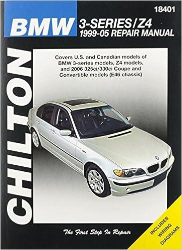 chilton total car care bmw 3 series z4 1999 05 repair manual