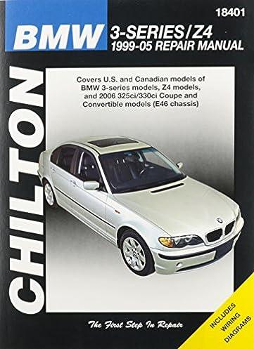 chilton total car care bmw 3 series z4 1999 05 repair manual rh amazon com 2019 BMW 3 Series Manual Transmission BMW 3 Series Interior