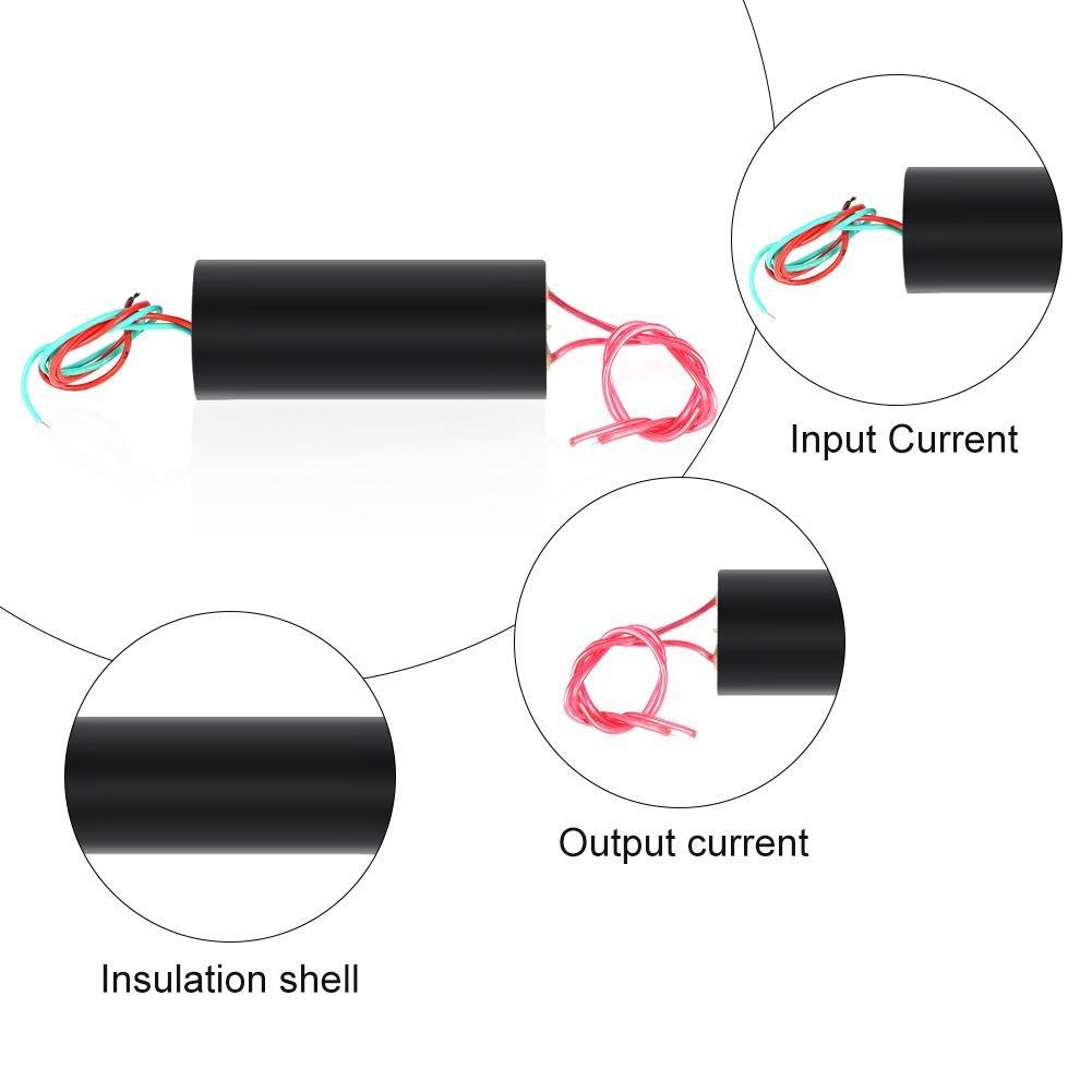 DC 6/V-12/V 80/kV ad alta tensione generatore inverter Transformer Boost Step-Up Power ARC Pluse accensione modulo