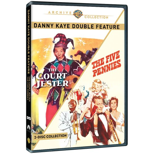 Danny Kaye Double Feature: The Five Pennies / The Court Jester ()