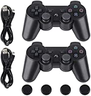 PS3 Controller-Six Axis Retropie Controller Support Wireless Bluetooth Dual Shock for Playstation 3 with Charg