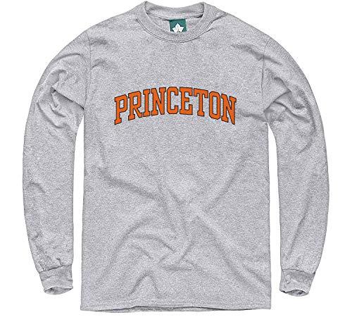 Ivysport Princeton University Long-Sleeve T-Shirt, Classic, Grey, Small