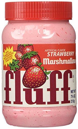 Marshmallow Fluff - Strawberry Flavor - 7.5 oz
