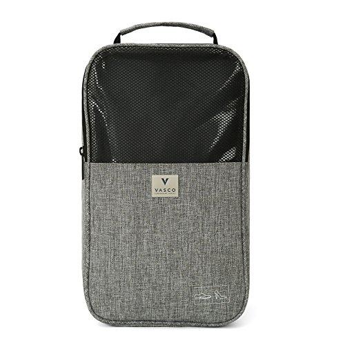 VASCO Shoe Travel Bag – Zipper Bags – Suitable as Shoe Gym Bag – For Men & Women - Gray by Vasco (Image #7)