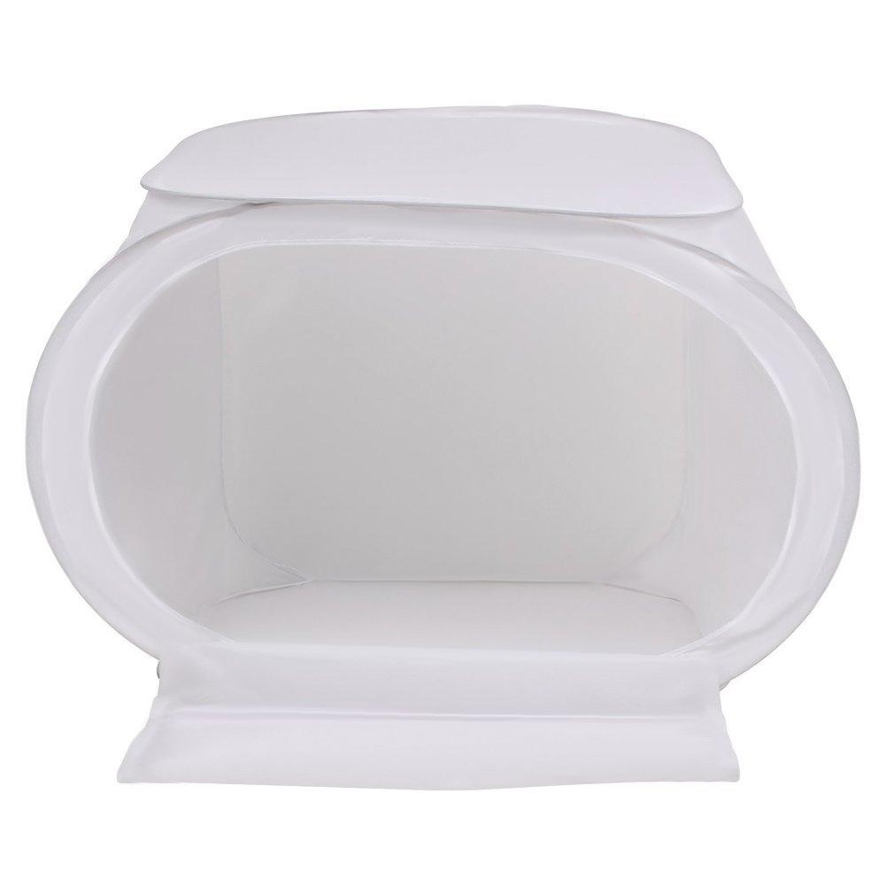 Rouge, Blanc, Bleu, Noir Bo/îte de Lumi/ère Blanc avec 4 Toiles de Fond Softbox Tente Cube Pliable Portable /Équipement Photographique Amzdeal Photo Studio 80/×80/×80cm