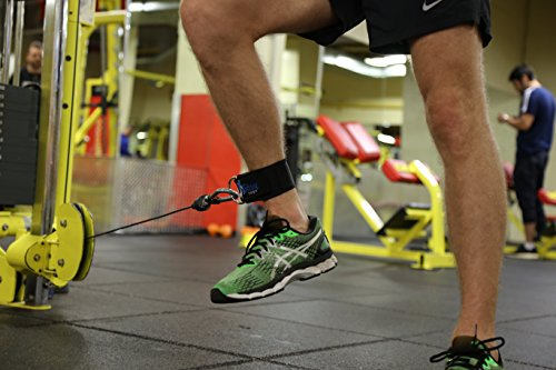 Ankle Strap for Cable Machine Exercise with Neoprene Padding