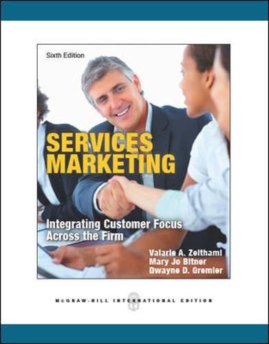 zeithaml services marketing - 5
