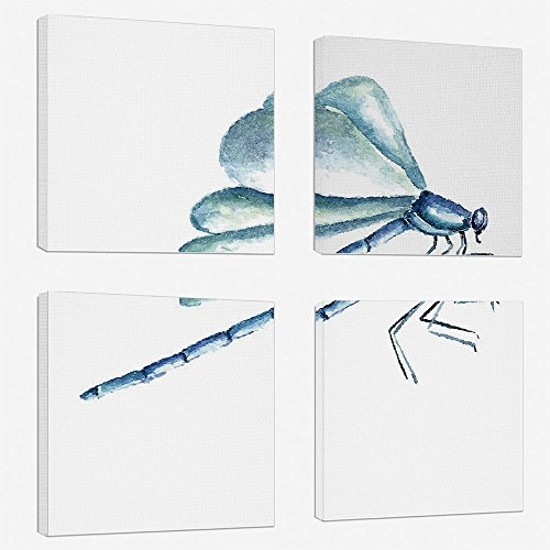 Wall Art Oil Paintings Giclee - Dragonfly - Canvas Prints for Home Decorations - 20