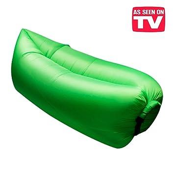 L Original Puf hinchable. Exclusivo sofá hinchable con el viento ...