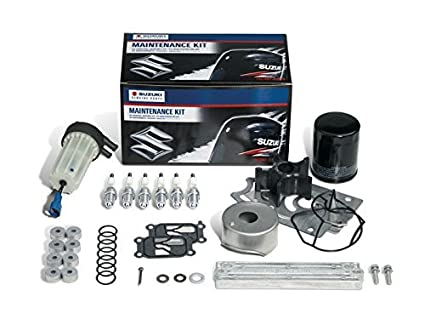 Amazon com: Suzuki Outboard Maintenance Kit for DF25/30 17400-89820