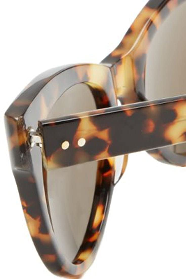 47c7376f7468 Amazon.com  Norma Kamali - Square Cat Eye Sunglasses - Tortoise - OS   Clothing