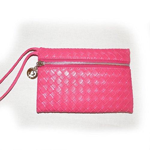 Stylish di rose da-Texture Braid Lady Handbag