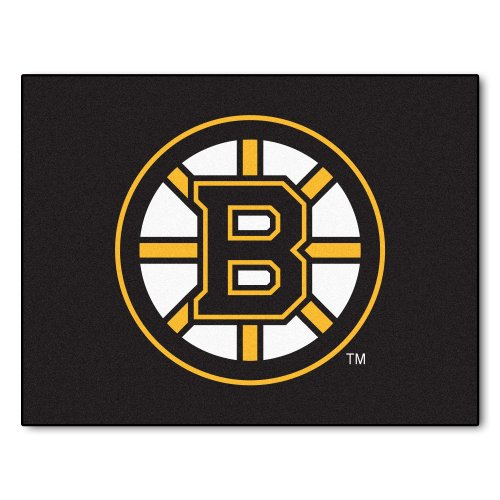 FANMATS NHL Boston Bruins Nylon Face All-Star Rug