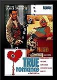 True Romance 28x40 Large Black Wood Framed Print Movie Poster Art