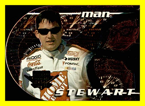 (2000 Wheels NASCAR RACING High Gear Man and Machine Drivers #MM1A Tony Stewart)
