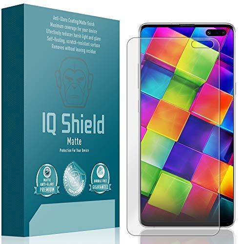 ([2-Pack] IQ Shield Matte Anti-Glare [Case Friendly] Screen Protector for Galaxy S10 5G 6.7