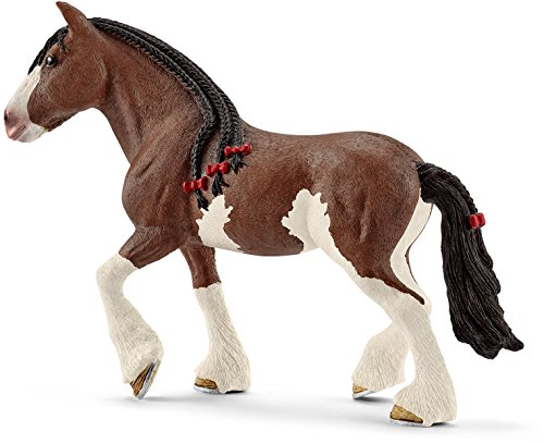Schleich North America Clydesdale Mare Toy Figure ()